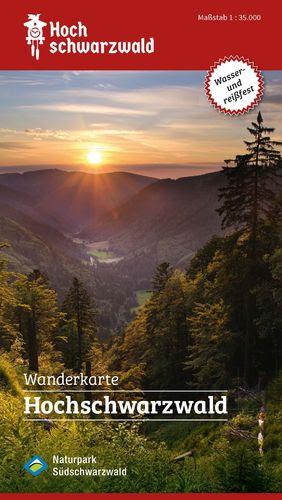 Wanderkarte Hochschwarzwald Hochtouren