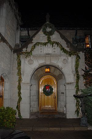 The Playboy Mansion Front Door