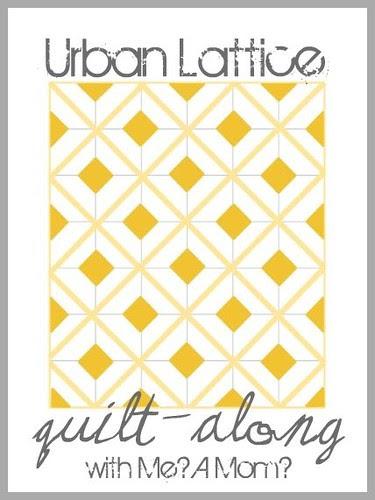Urban Lattice quilt