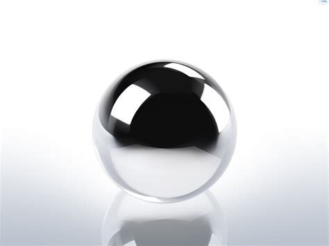Chrome sphere background   PSDGraphics