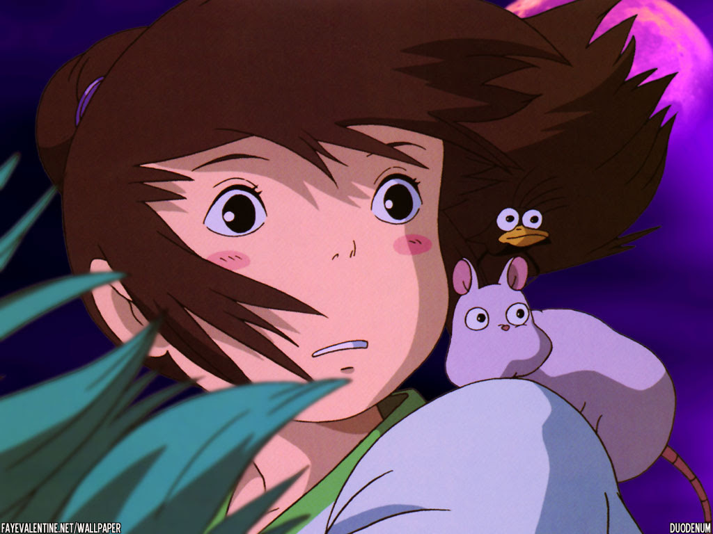 Spirited Away Wallpaper A Viagem De Chihiro Wallpaper 403599