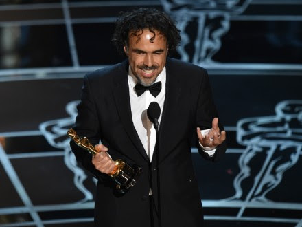Iñárritu se lleva el Oscar a Mejor Director por Birdman. Foto: AP / John Shearer