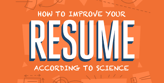 How to Improve Your Resume According to Science - NetCredit