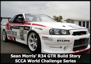 Sean Morris' R34 SCCA GTR Build Story