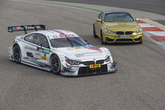 2014 BMW M4 DTM Is Ready To Race