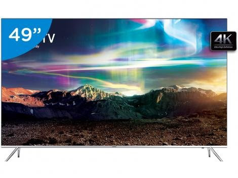 Smart TV LED 49 Samsung 4K Ultra HD 49KS7000 Conversor Digital 4 HDMI 3 USB - Tv 4k - Magazine Luiza