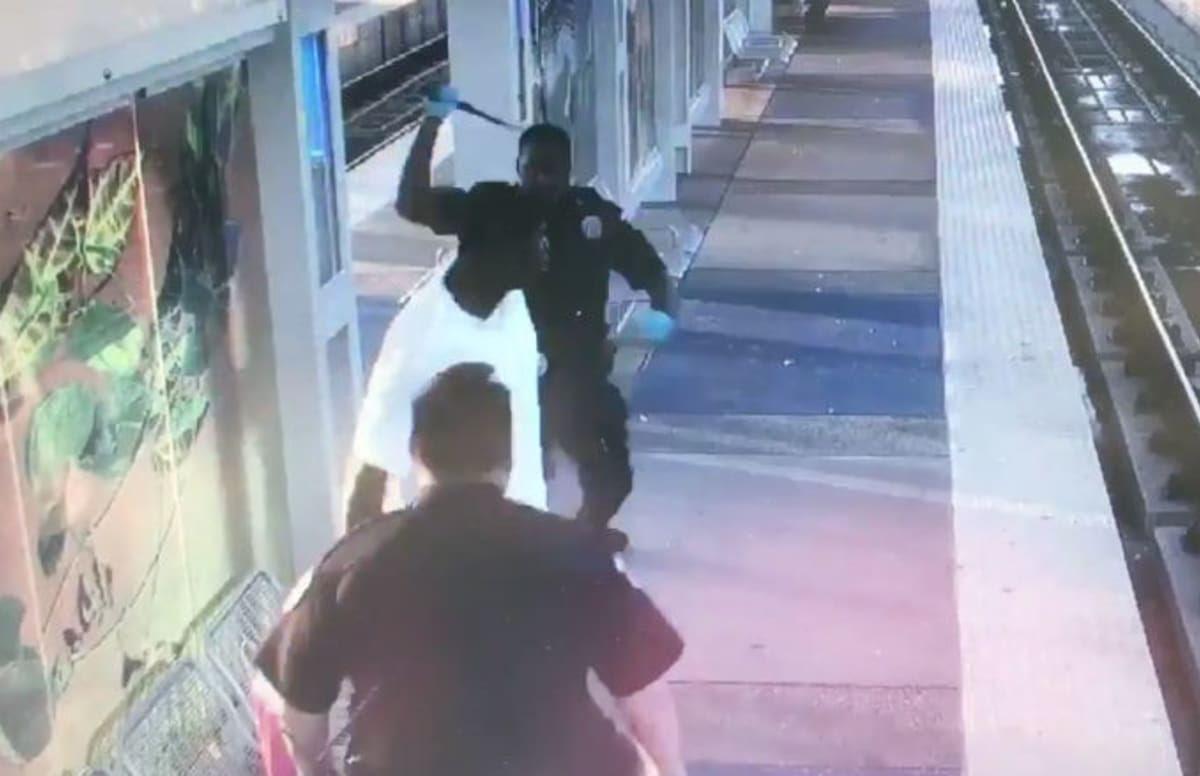 Video Released Of Houston Police Beating Homeless Man