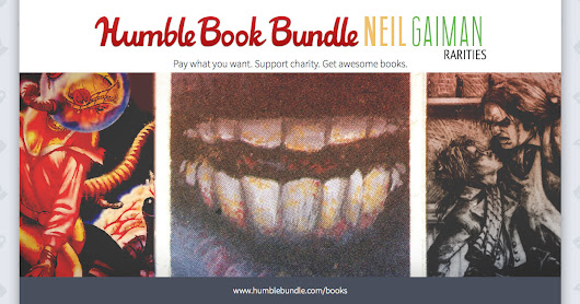 Humble Books Bundle: Neil Gaiman Rarities