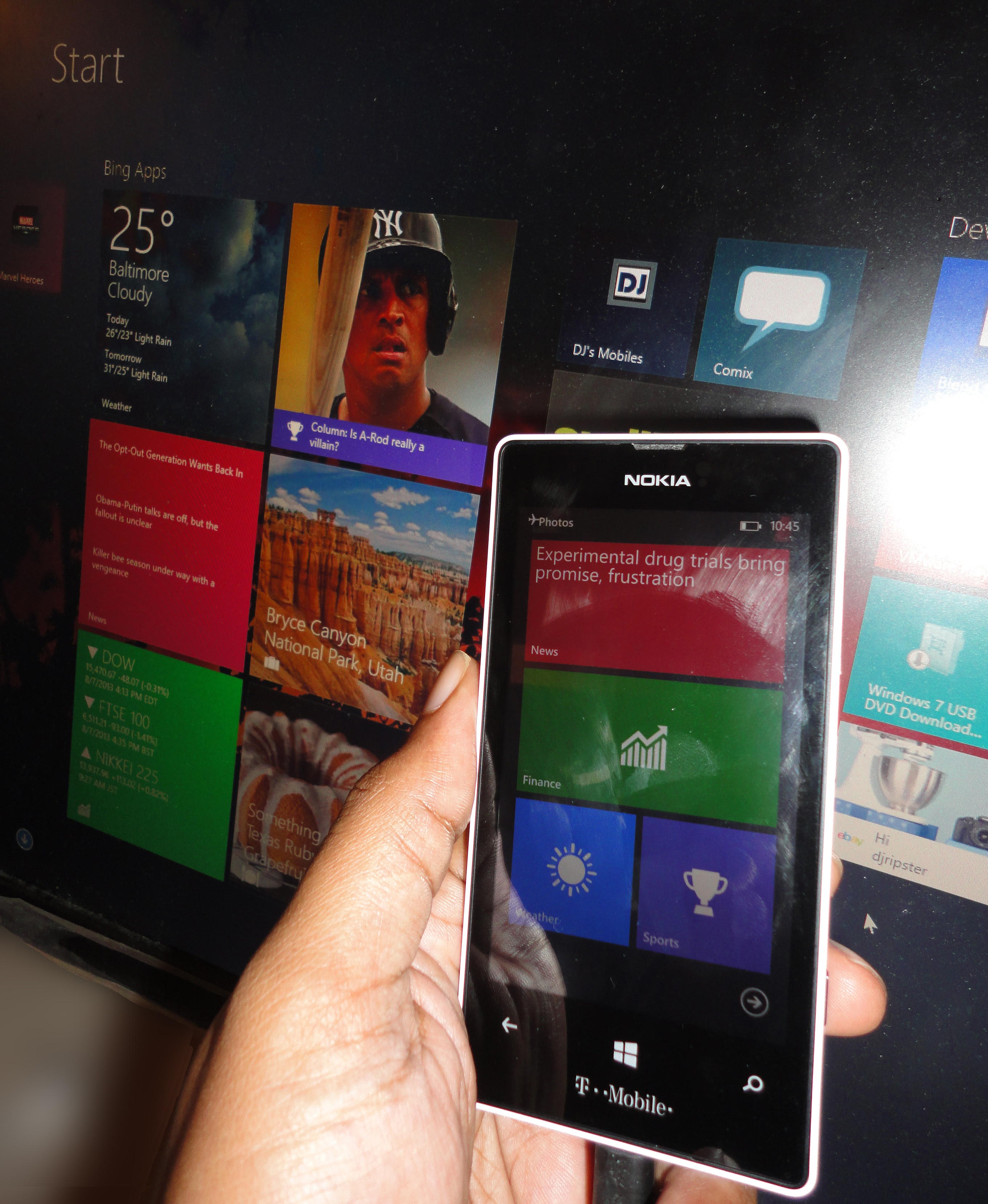 Bing Finance: [Windows Phone App] Bing Sports