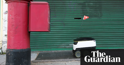 'It's like a robot playground': the cities welcoming self-driving delivery droids | Cities | The Guardian