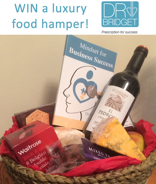 Win a luxury food hamper AND start your business on a path to success