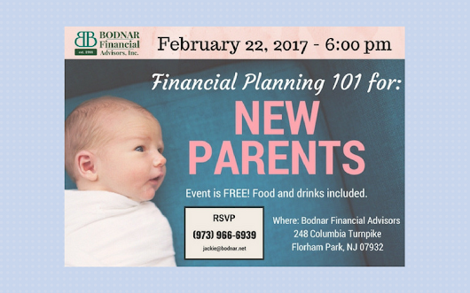 FREE Workshop: Financial Planning for New Parents