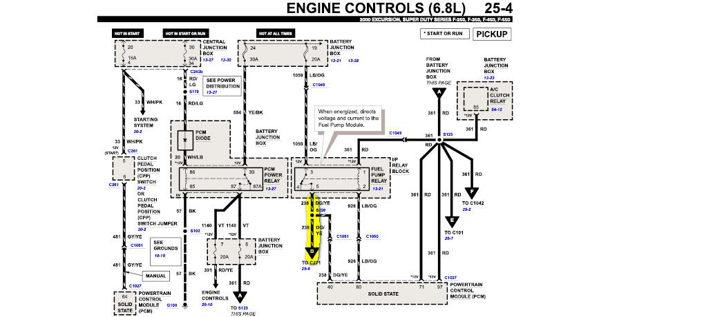 My 2000 Ford F250 V10 has a starting/ running problem. The ...