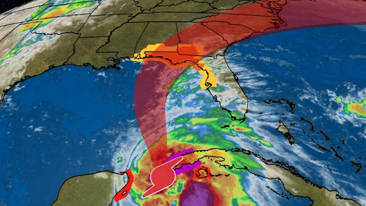 Michael Intensifies Into a Hurricane; Dangerous Threat to Florida's Northeast Gulf Coast | The Weather Channel