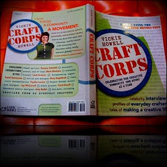 Craft Corps book Proof of Life!