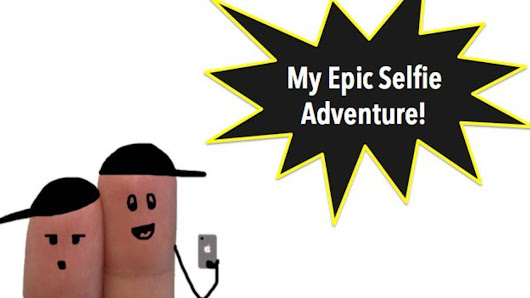 Downloadable Student Selfie Mission Template