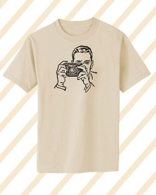 Say Cheese Mens T-Shirt - Size XL