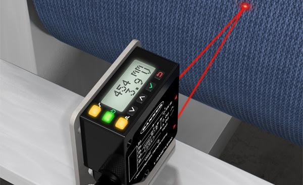 Sensor láser LE550 con pantalla para medición