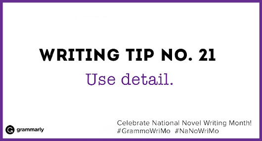 Writing Tip no. 21