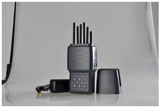 In-One Tragbare GSM UMTS LTE4G WiFi GPS Handy-Störsender