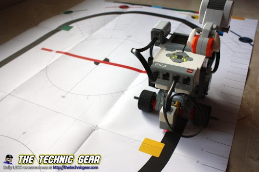 HOWTO create a Line Following Robot using Mindstorms ← LEGO Reviews & Videos