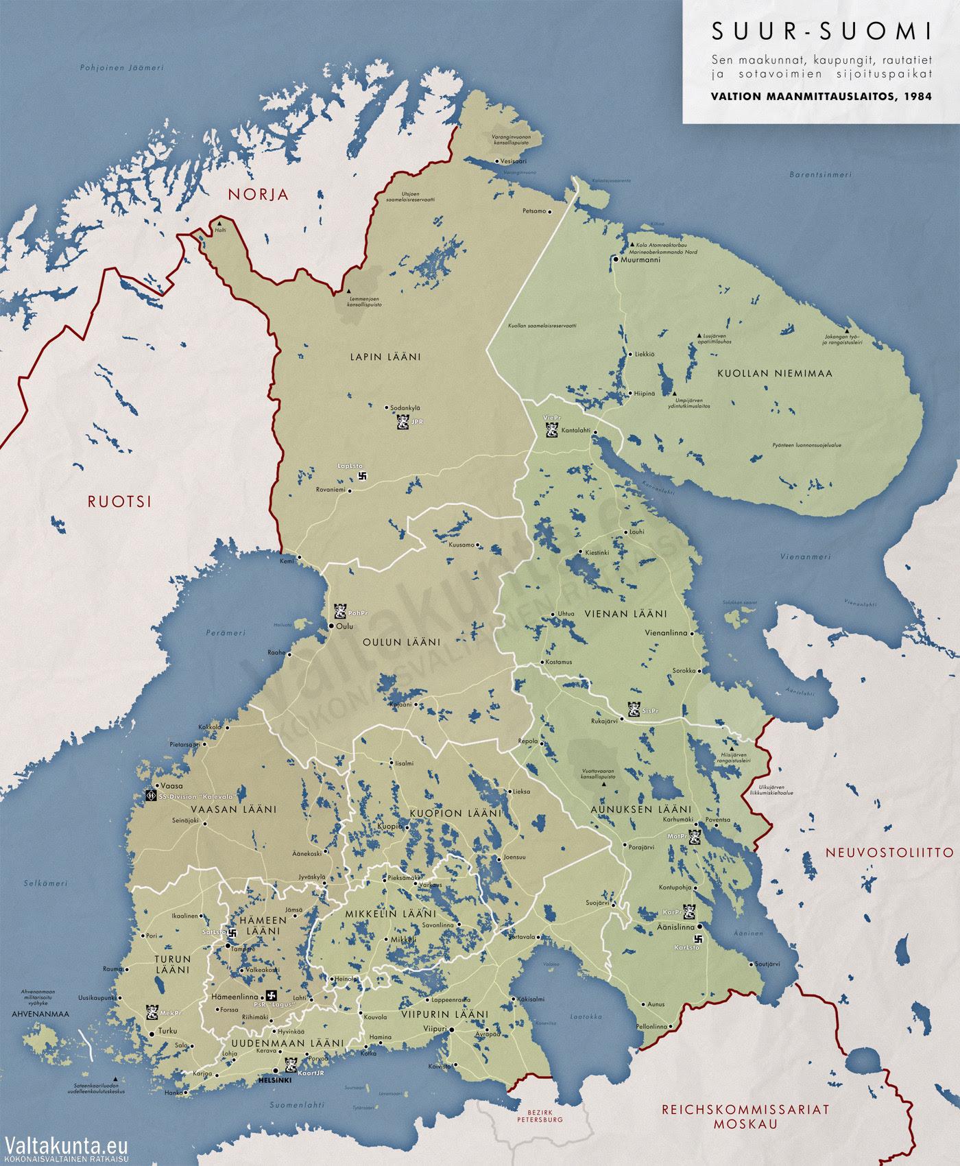 Suomen Kartta 1917