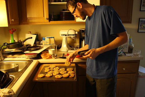 Craig and cookies