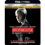 Ex Machina (4K Ultra HD + Blu-ray + Digital HD)