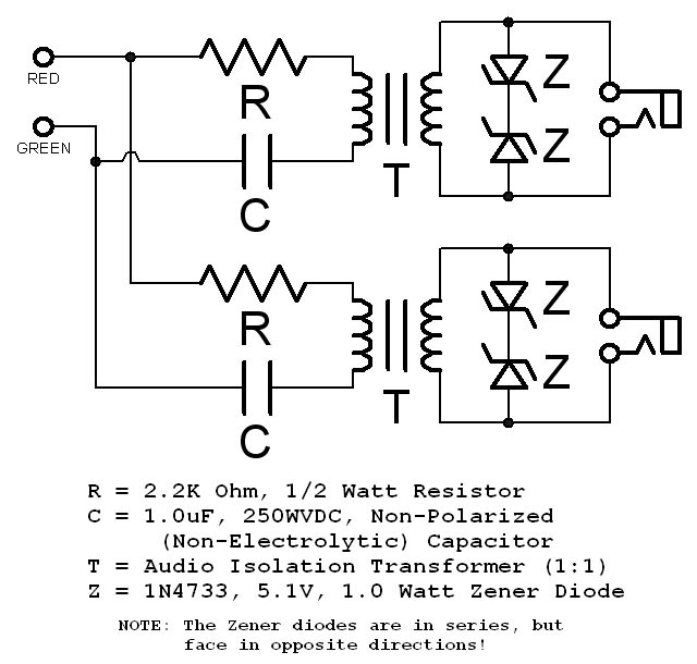 Why Have A Capacitor On A Telephone Input