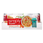 Campbell's Simply Chicken Noodle Soup, 18.6 oz, 8-count