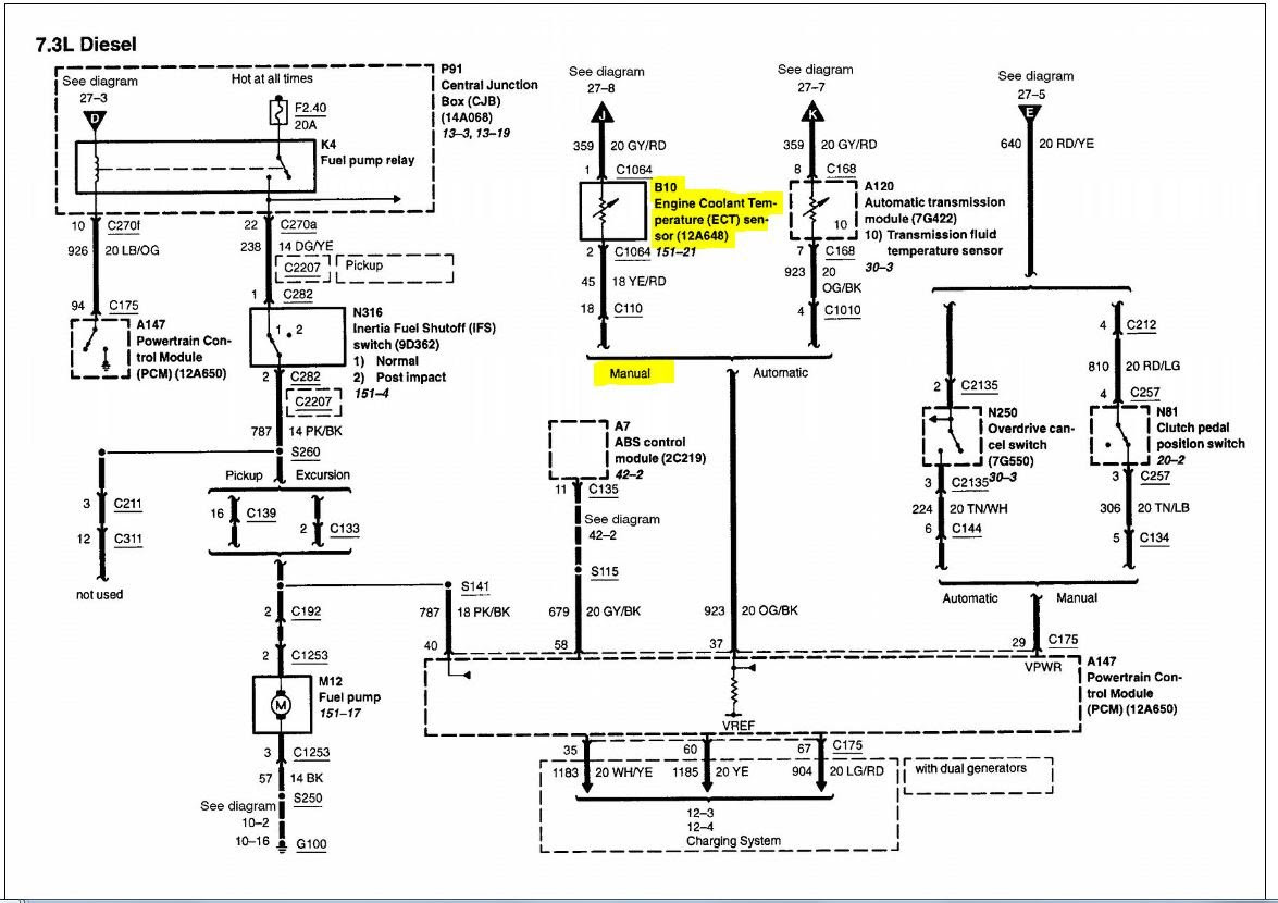2002 F350 7 3 Wiring Schematic 2014 Kawasaki Klr 650 Wiring Diagram For Wiring Diagram Schematics