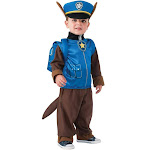 Paw Patrol - Chase Toddler/Child Costume - 42140 - Blue - Small (4-6)