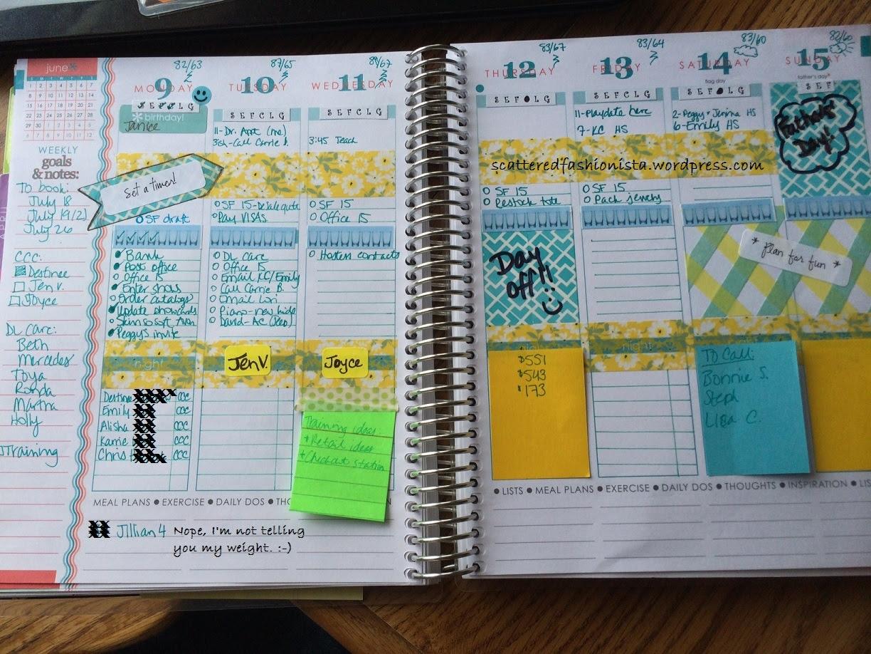 A Walk through My Erin Condren Life Planner: How this Planner ...