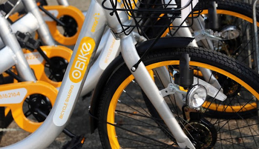 Singapore's oBike rides into Hong Kong with 1,000 shared bicycles