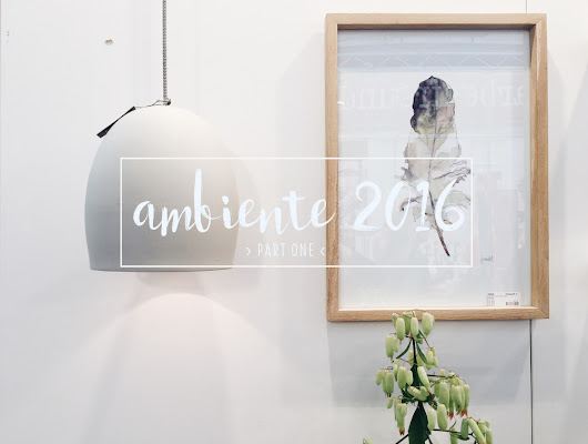 ambiente 2016 - part one