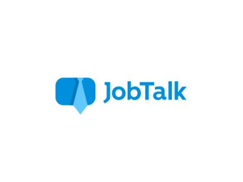 job talk logo design  job board  dalius stuoka