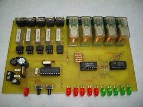 Mạch hiệu ứng ánh sáng với PIC16F84 Relay Triac Control