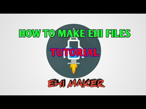 HOW TO MAKE EHI FILES - EhiMakerOfficiaL