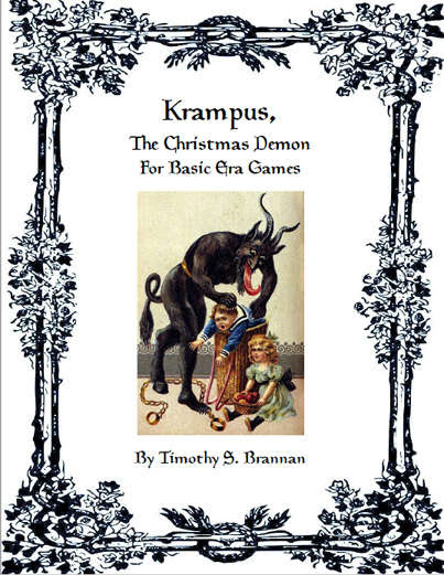 Krampus, The Christmas Demon for Basic Era Games
