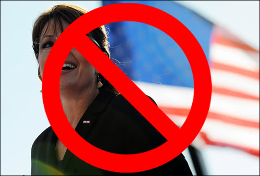 sarah palin stabs real conservatives in the back