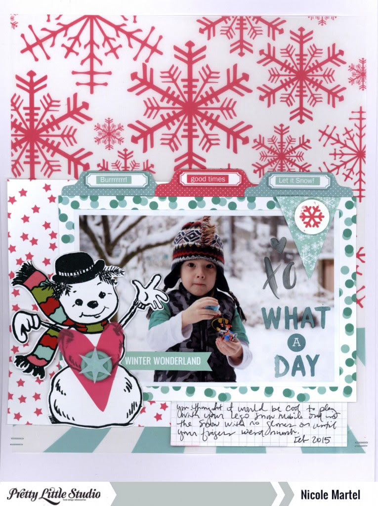 what a day_Pretty Little Studio_Dear Lizzy_American Crafts_Nicole Martel_layout