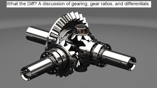 What the Diff - Gear Ratio - 4WAAM
