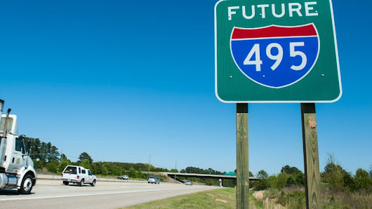 Have you seen the signs? I-495 is here - Triangle Business Journal