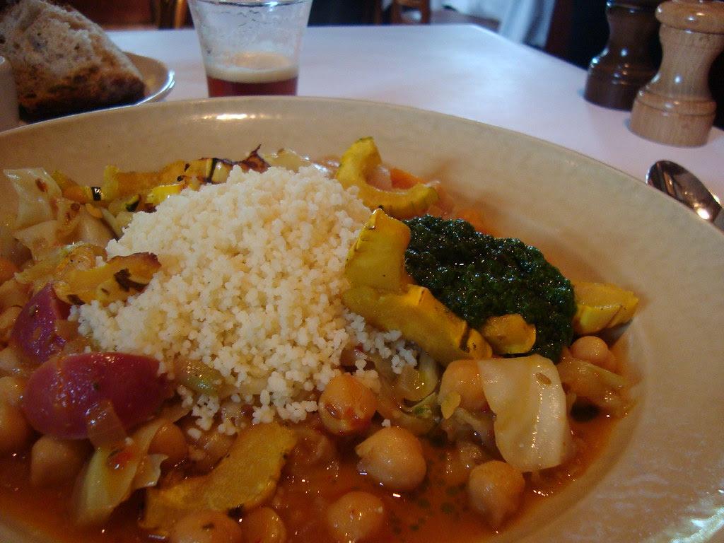 Autumn Vegetable Couscous