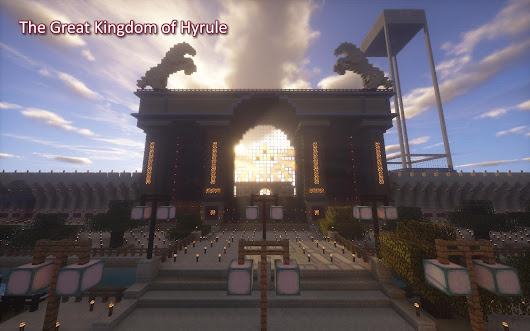 Kingdom of Hyrule: Empire Minecraft Outpost Tour | Minecraft Blog