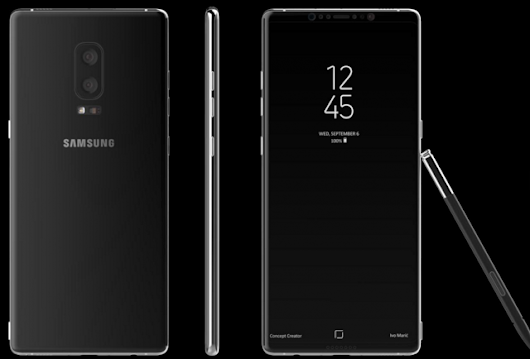 Galaxy Note 8 Leaks Reveals Exciting New Design