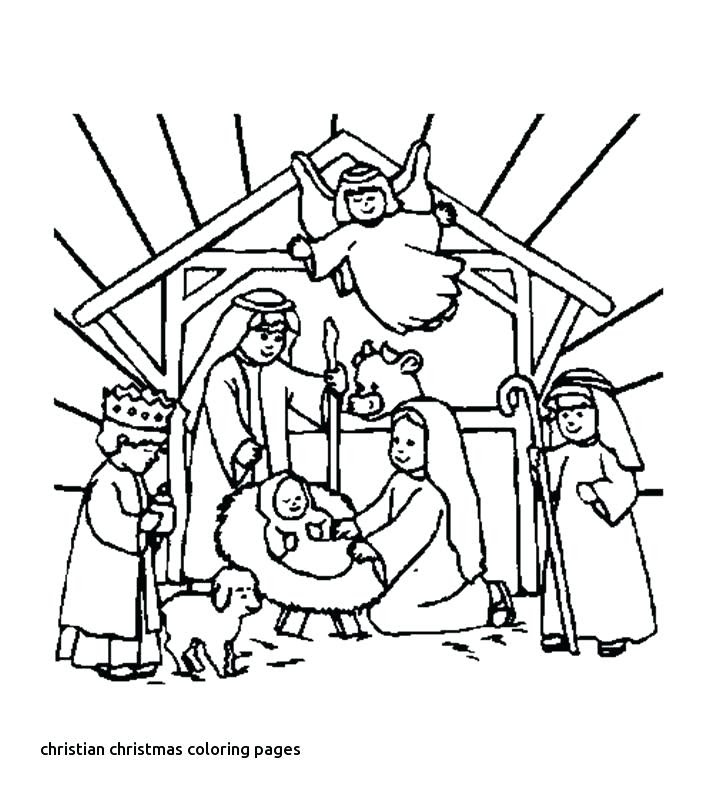 Free Christian Christmas Coloring Pages at GetColorings ...