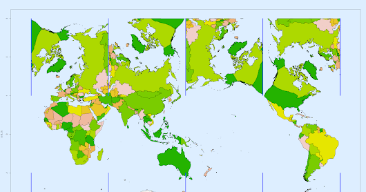 <h2>World map equal area projection - more</h2>