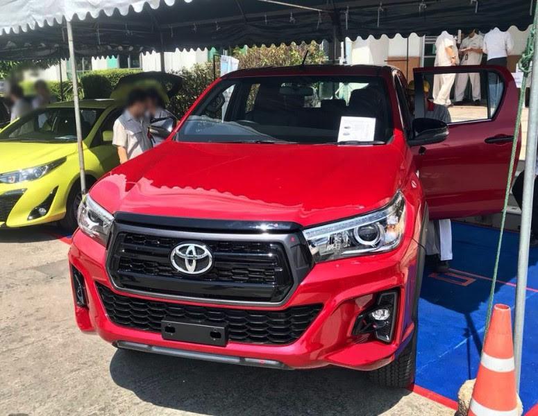 2018 2019 Toyota Hilux Revo Rocco Exporter Importer  Toyota Hilux Revo Rocco Exporter Thailand