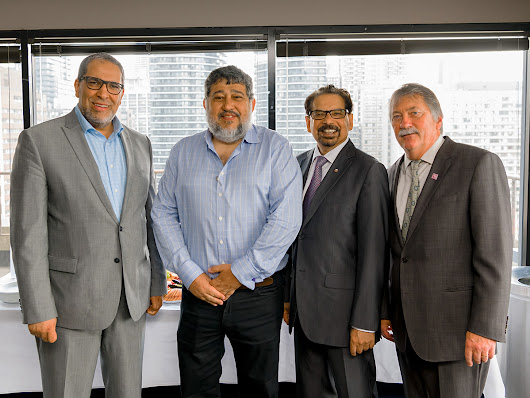 NSERC, SSHRC, Ryerson presidents convene for roundtable on research opportunities between Canada and Brazil